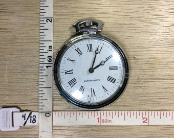 Vintage Antimagnetic Pocket Watch Working Condition Used