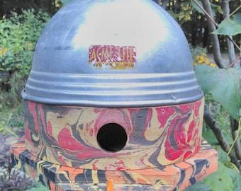 Birdhouse upcycled