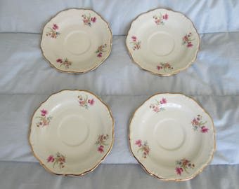 Dishes- plates by Wakbrzych Poland. 4 ea. Total guarantee.