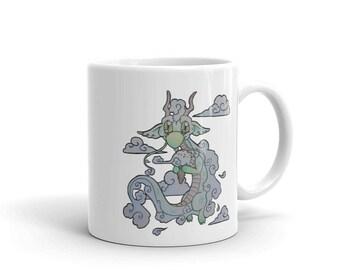 Cloud-Cream Dragon Mug