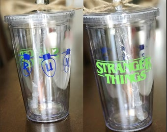 Stranger Things Tumbler, Stranger Things, Eleven Tumbler, Stranger Things Gift, Stranger Things Cup, Coffee Tumbler, Stranger Things Dustin