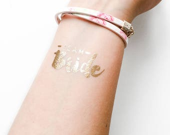 Bachelorette party, bachelorette tattoo, temporary tattoo, bachelorette tattoos, temporary tattoos, bride tattoo, team bride tattoo