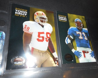49er's Rookie cards by Skybox