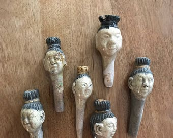 Ceramic Clay Bottle Stoppers