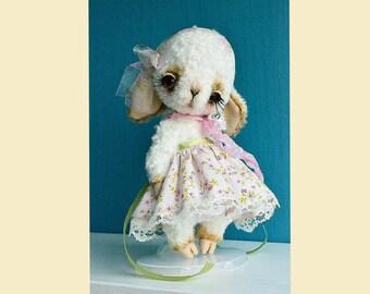 Teddy stuffed toy artist lamb toy sheep teddy bear toy stuffed animal toy teddy  lamb toy stuffed sheep stuffed lamb toy Teddy lamb plush