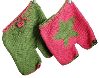 Crochet Pattern--Star Shorties or Longies