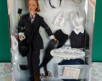 Mattel Barbie Millicent Roberts Pinstripe Power Doll Limited Edition