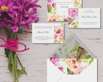 Printable invitations for marriages-model BENEVENTO