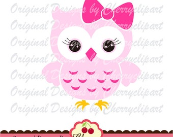 Owl svg dxf, Owl with bow Silhouette Cut Files, Cricut Cut Files AN16 - Personal and Commercial Use-paper crafts,card making,web design