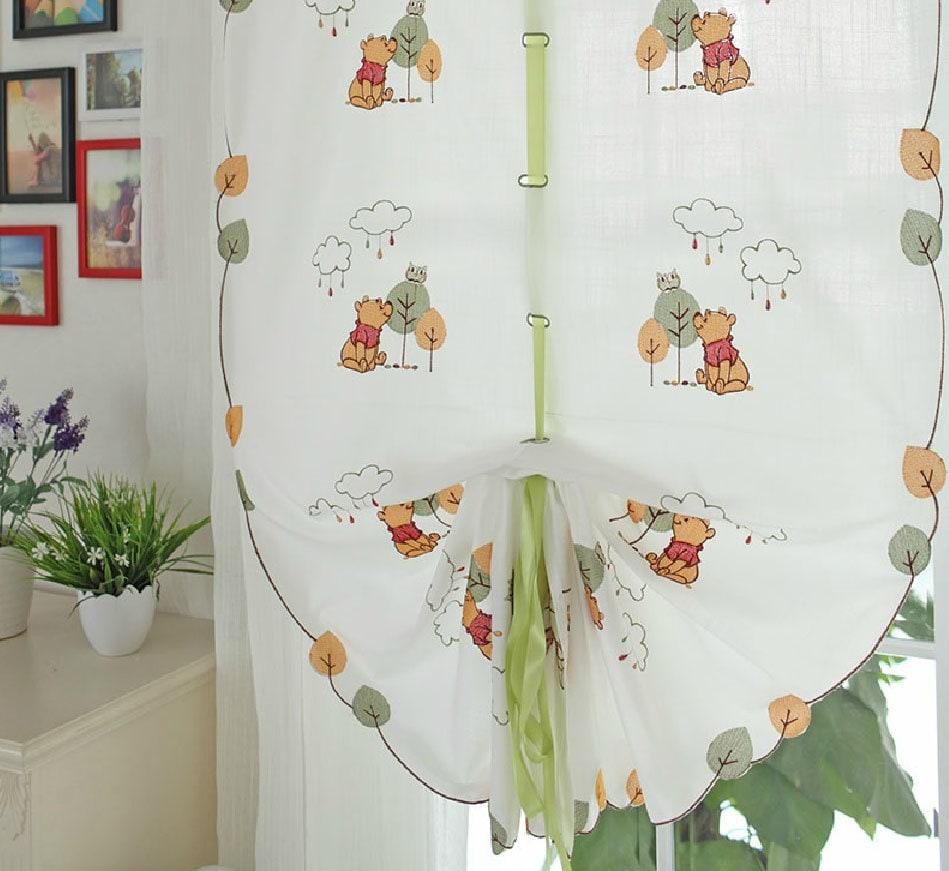 Winnie l\'ourson ficeler rideaux pour chambre d\'enfant