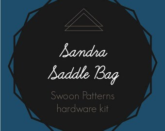 Sandra Saddle Bag - Swoon Hardware Kit
