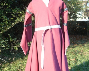 Medieval Princess costume, dress size 4 / 6 years