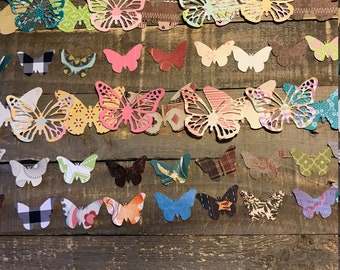 Die Cut Butterfly Collection for Junk Journal Mixed Media Decoupage Scrapbook Creativity