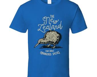 Kiwi Birds Endangered Species T Shirt