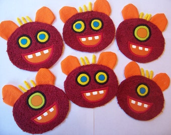 Monster Party Pack of 5