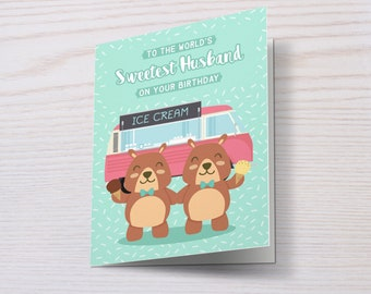 Happy Birthday To My Boyfriend/Fiancé/Husband, Gay Birthday Card, Boyfriend Birthday Card, Gay Couple, LGBT Birthday Card, LGBT, Gay Card