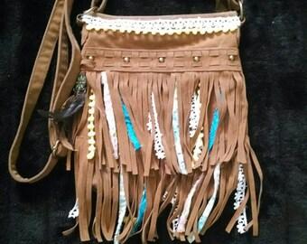 Gypsy Cowgirl Purse Crossbody Bag Adjustable Strap