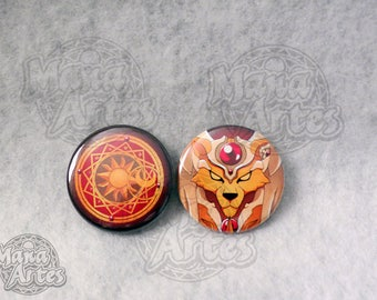 Clow Book Buttons (Pick your Buttons) 1.5""