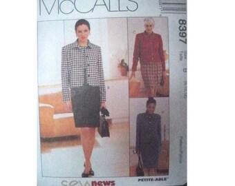 McCall's 8397 Dress and Jacket Pattern - Uncut