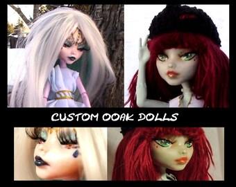 OOAK Monster High Dolls *Custom*