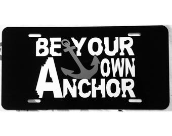 Teen Wolf Car Tag Be Your Own Anchor License Plate