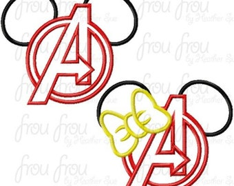 Avengers Mouse Custom embroidered Disney Inspired Vacation Shirts for the Family! 4