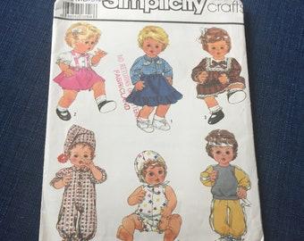 simplicity 8376 doll pattern