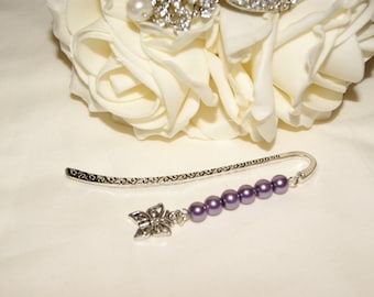 Butterfly Charm Bookmark - Small
