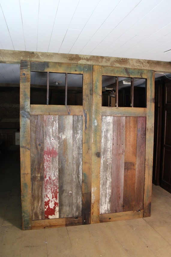 Genial Mission Style Pine Barn Door Room Dividers Multi Colored Made