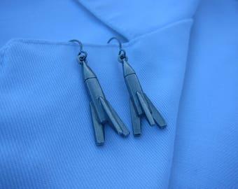 Rocket Earrings -LT272