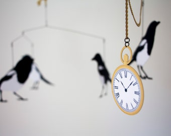 Magpie Hanging Mobile
