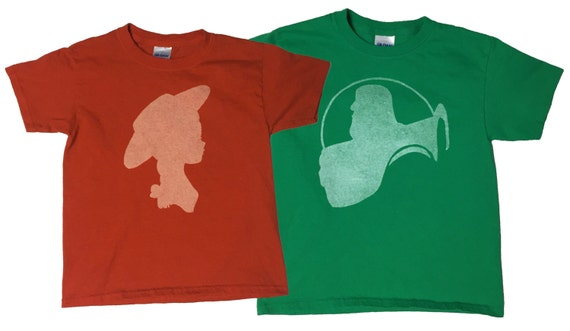 Buzz Lightyear and Jessie Disney Shirts / Toy Story / Couple shirts / Matching / kid shirts / adult shirts / vacation / Bleached T-shirts KoYRB