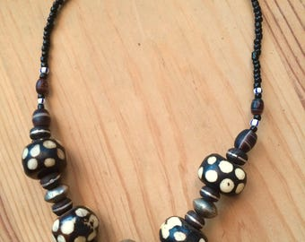 Chunky Indian hippy necklace