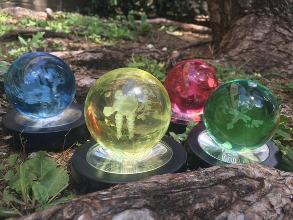 Divine Beast Spirit Orb Set Breath Of The Wild Glass