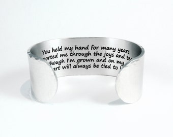 Mom Gift ~ You held my hand for many years Supported me through the joys and tears And though I'm grown and on my own...