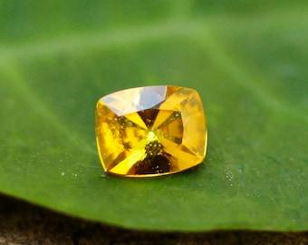 Natural Tanga Yellow sapphire 0.56 ct