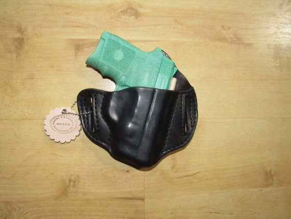 Leather Holster for Bodyguard with laser custom crafted from premium leather for EDC, OWB