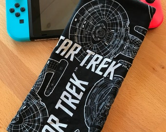Nintendo Switch Fabric Travel Sleeve - Star Trek