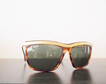 Vintage Ray Ban Olympian III Bausch&Lomb sunglasses -80s