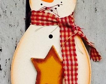 rustic snowman ornament, snowman ornament, snowman gift tag, santa gift tag, santa ornament, Country rustic snowman, christmas tree ornament