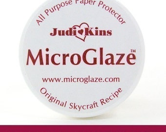 MicroGlaze Waterproof Your Ink Jet Prints.  All Purpose Paper Protector.