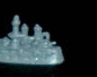 Miniature TOY BATTLESHIP (Calico Miniatures)