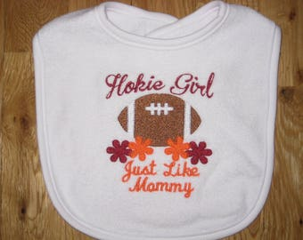 Hokie Girl Just Like Mommy