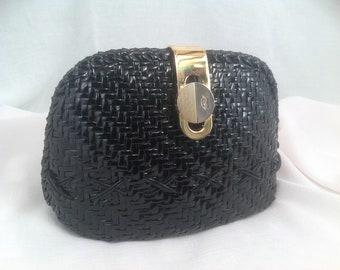 Vintage Cesare Piccini Straw Handbag Italy