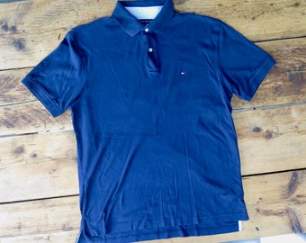 Tommy Hilfiger navy blue polo shirt