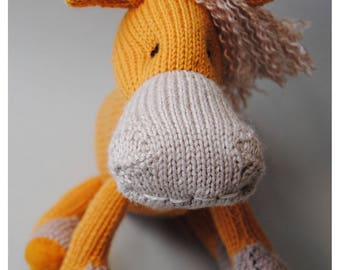 Orla orange horse,one-of-a-kind,personalized