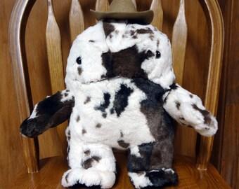 Cuddly soft Cowggan plushie