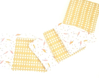 Washable cotton baby squares / cleansing wipes / Terry cloth