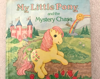 Vintage Small My Little Pony Book