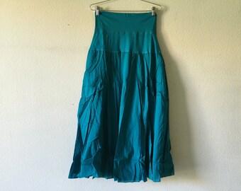 Vintage 90s Cotton Skirt